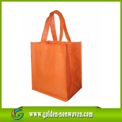 Shopping bag in polipropilene non tessuto da 100 Gsm prodotto da Quanzhou Golden Nonwoven Co.,ltd